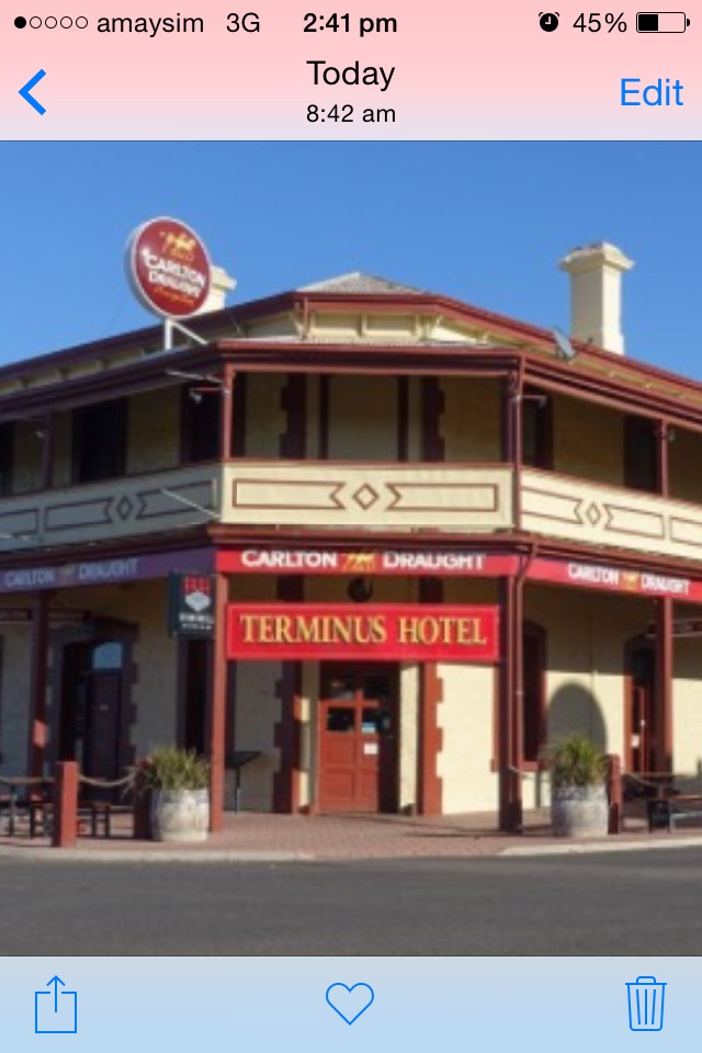 The Terminus Hotel Motel - South Australia Travel