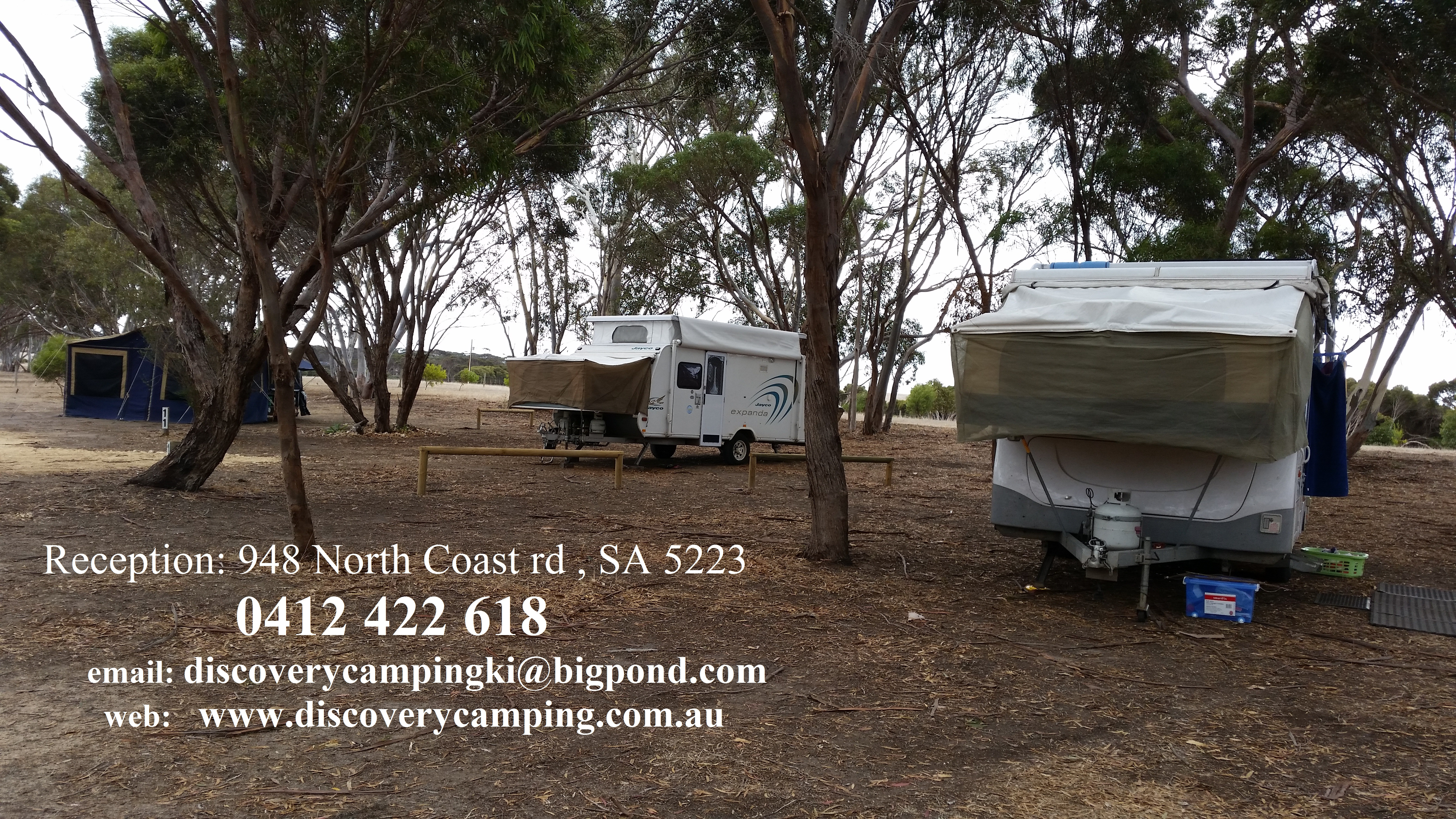 Discovery Lagoon  Caravan  Camping Grounds - South Australia Travel