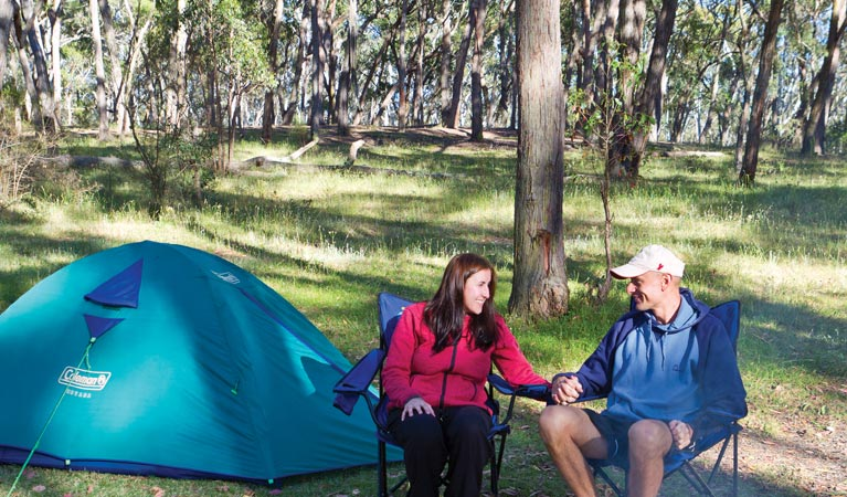 Apsley Falls campground - South Australia Travel