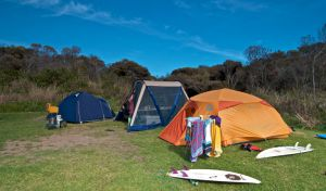 Frazer campground - South Australia Travel