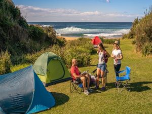 Little Beach campground - South Australia Travel