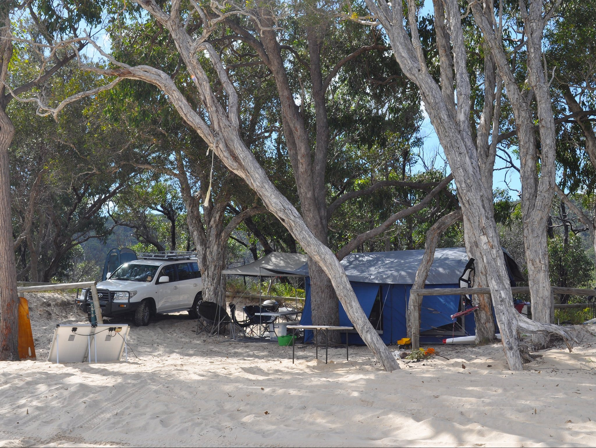 Moreton Island National Park and Recreation Area camping - South Australia Travel