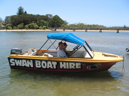 Swan Boat Hire - South Australia Travel