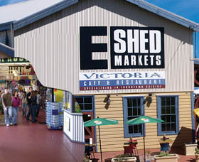 The E Shed Markets - South Australia Travel