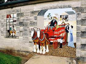 Millicent Murals - South Australia Travel