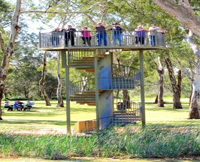 Darling and Murray River Junction and Viewing Tower - South Australia Travel