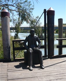 Captain John Egge Statue - South Australia Travel