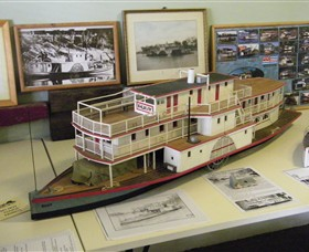 Wentworth Model Paddlesteamer Display - South Australia Travel