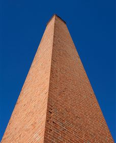Copperfield Store Chimney and Cemetery - South Australia Travel