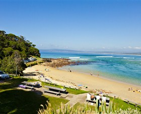 Merimbula Bar Beach - South Australia Travel