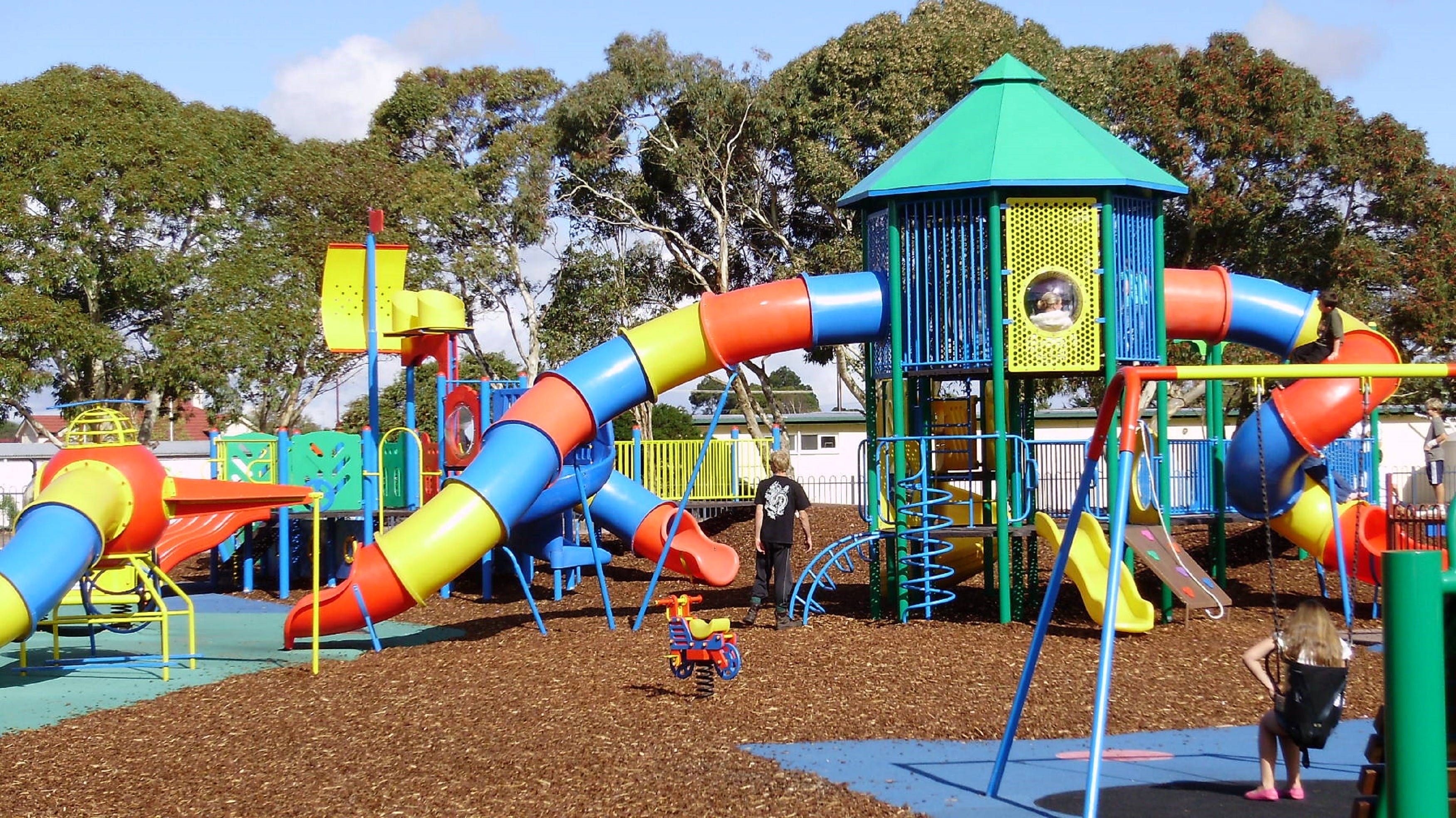 Millicent Mega Playground in The Domain - South Australia Travel