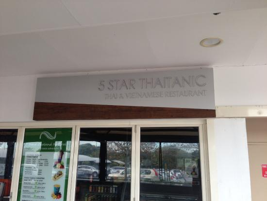 Five Stars Thaitanic Chullora - South Australia Travel