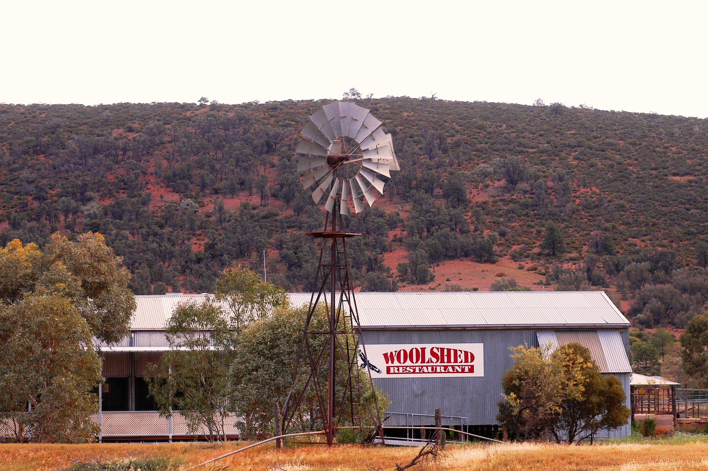 The Woolshed Restaurant at Rawnsley Park - South Australia Travel