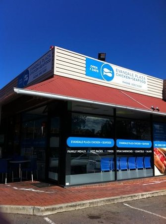 Evandale Chicken And Seafood - South Australia Travel