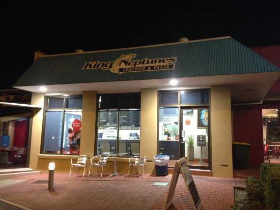 King Neptune's Seafood  Pasta - South Australia Travel