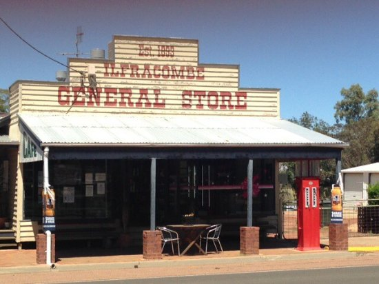 Ilfracombe General Store  Cafe - South Australia Travel