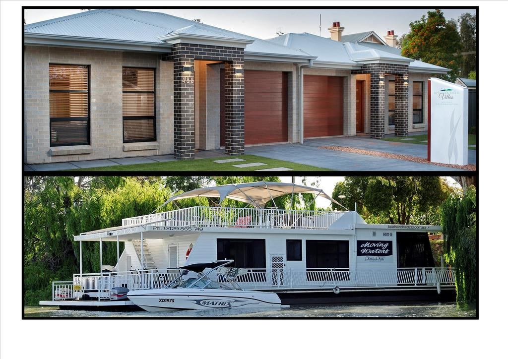 Renmark River Villas and Boats  Bedzzz - South Australia Travel