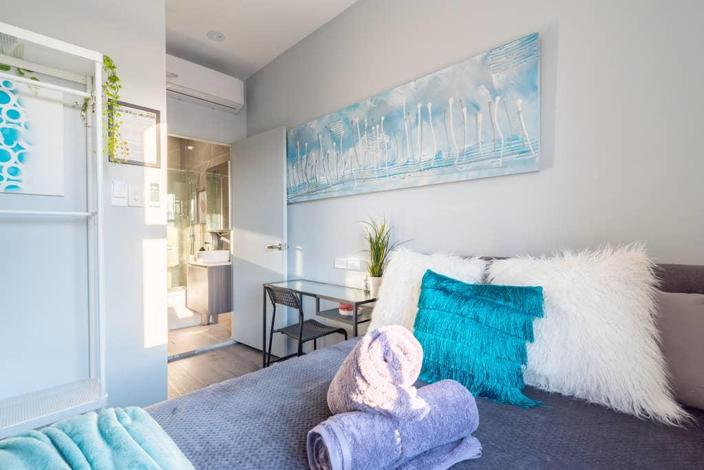 1 Private Double Bed with En-suite Bathroom in Sydney CBD near Train UTS DarlingHarICCC hinatown - SHAREHOUSE - South Australia Travel