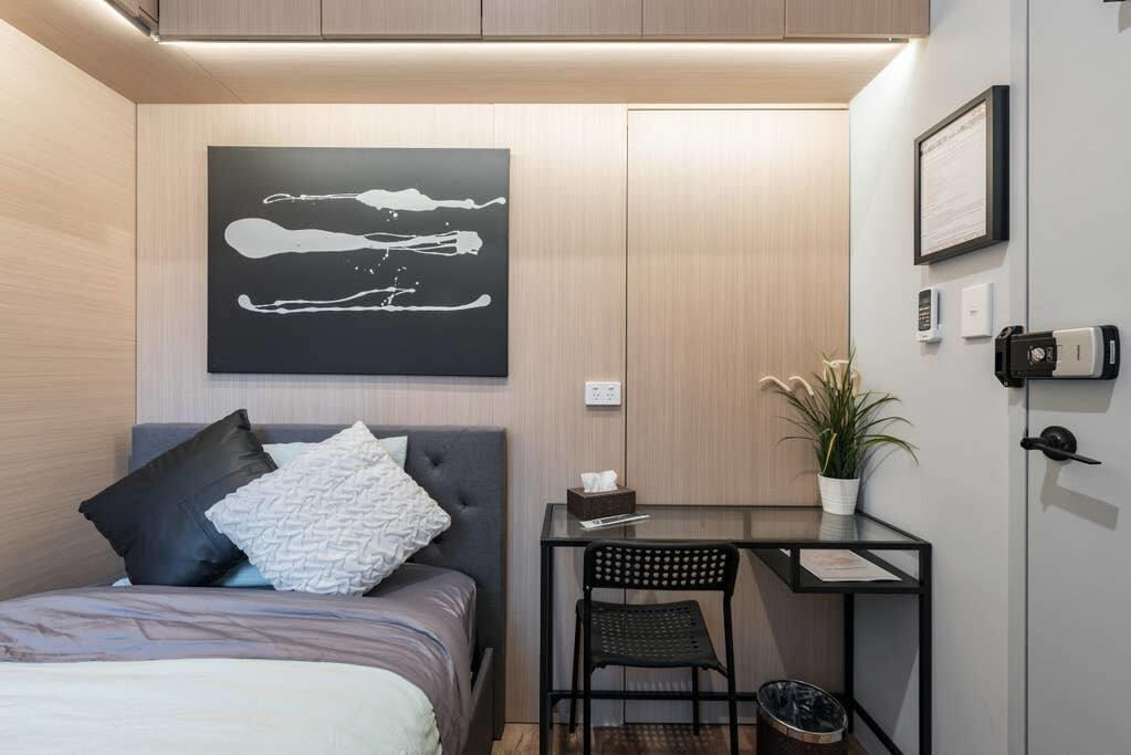 1 Private King Single Bed In Sydney CBD Near Train UTS DarlingHarICCC hinatown - SHAREHOUSE - South Australia Travel