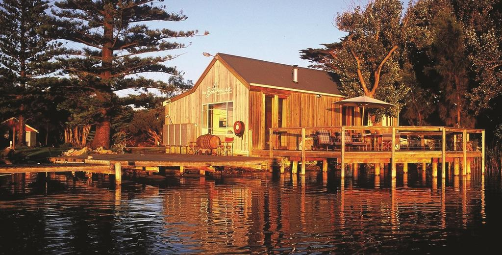 Boathouse - Birks River Retreat - South Australia Travel